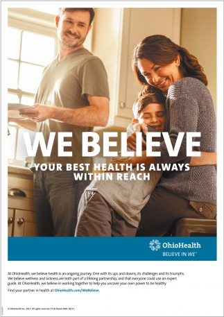 We Believe your best health is always within reach