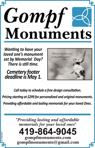 Providing lasting and affordable memorials for your loved ones
