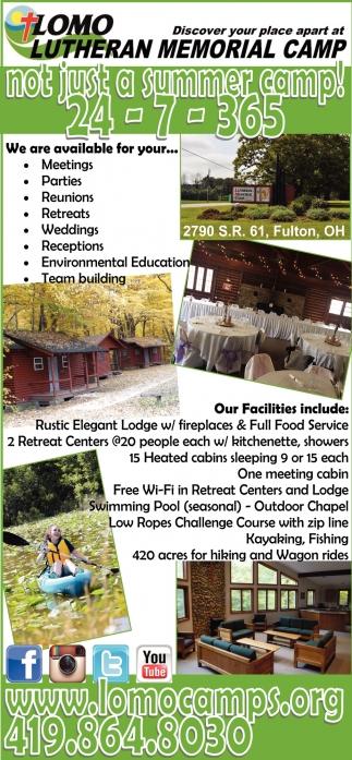 Not just a summer camp!