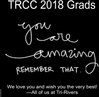 TRCC 2018 Grads