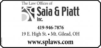 The Law Offices of Saia & Piatt