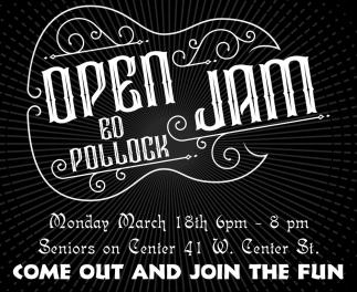 Open Jam - Ed Pollock