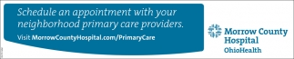 Schedule an appointment with you neighborhood primary care providers