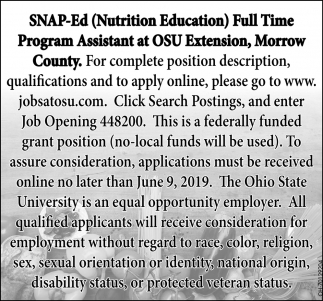 SNAP - Ed - Nutrition Education