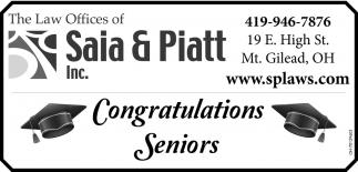 Congratulations Senior