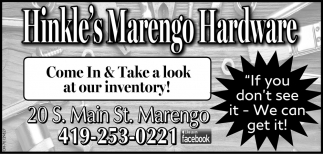 Come In & Take a look at our inventory!