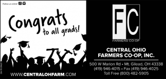 Congrats to all grads!