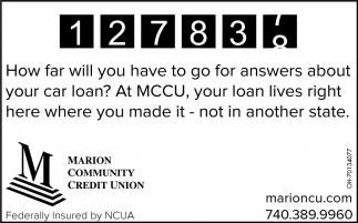 At MCCU, your loan lives right here where you made it - not in another state