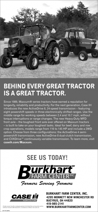 Behind every great tractor is a great tractor is a great tractor