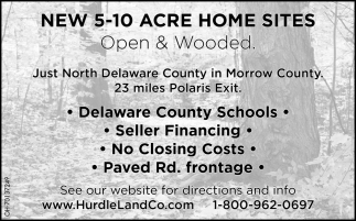 New 5 - 10 Acre Home Suites