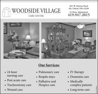Woodside Village Nursing & Rehabilitation