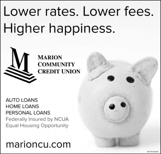 Lower rates. Lower fees. Higher happiness