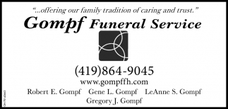 ...offering our family tradition of caring and trust
