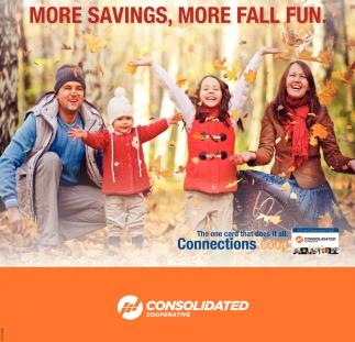 More savings, more fall fun