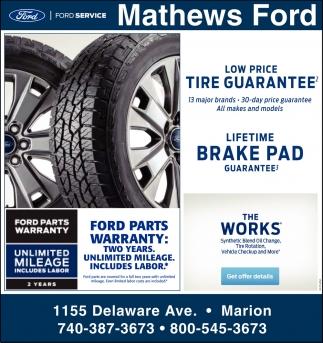 Low Price Tire Guaranteed