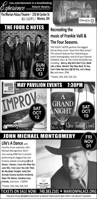 The Four C Notes ~ Improv ~ A Grand Night ~ John Michael Montgomery