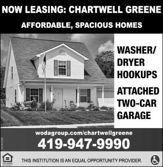 Now Leasing: Chartwell Greene