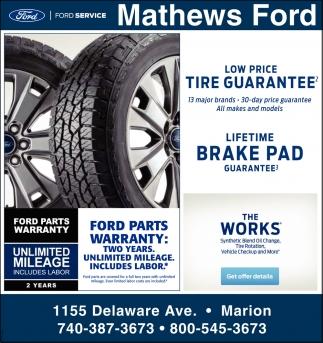Low Price - Tire Guarantee