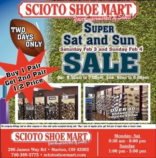 Super Sat and Sun Sale