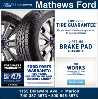 Low Price - Tire Guarantee