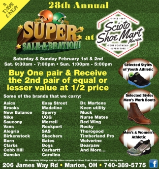 28th Annual Super Sale-A-Bration