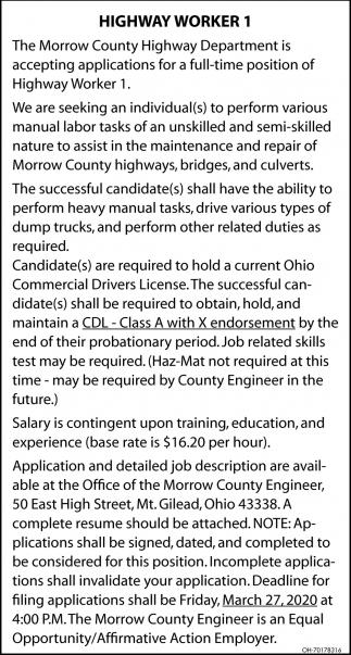 Highway Worker 1